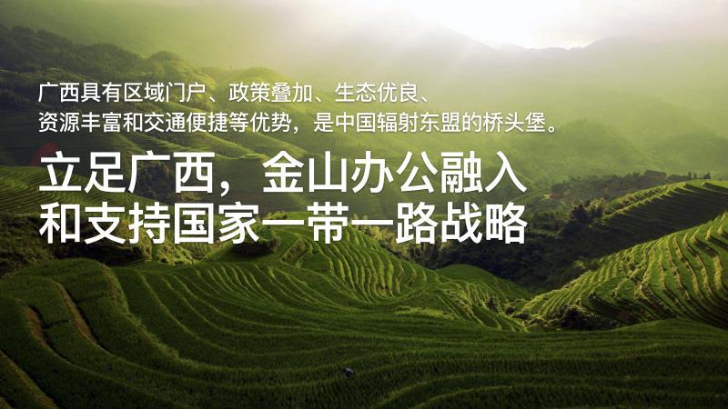 软件产业迎政策东风 金山办公赋能广西信创