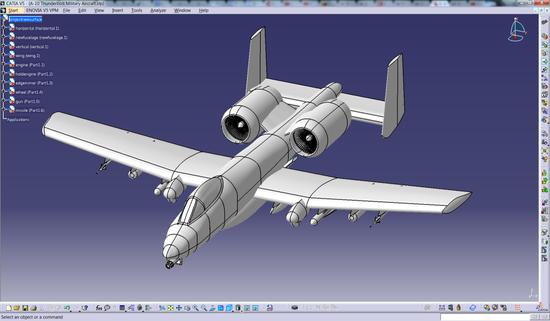 图:CATIA 在航空领域的应用 (来源:谷歌)